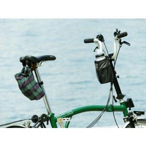 POTA BIKE(ポタバイク) ハンドルセンターポーチ ブロンプトン用ドリンクホルダー/小物入れ denden 09