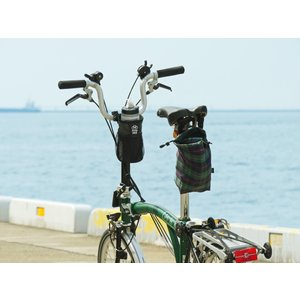 POTA BIKE(ポタバイク) ハンドルセンターポーチ ブロンプトン用ドリンクホルダー/小物入れ denden 05