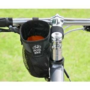 POTA BIKE(ポタバイク) ステムサイドポーチ 自転車用ハンドルポーチ/ドリンクホルダー|denden|03