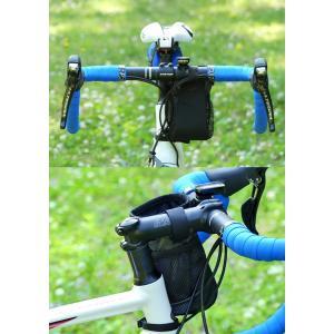 POTA BIKE(ポタバイク) ステムサイドポーチ 自転車用ハンドルポーチ/ドリンクホルダー|denden|06