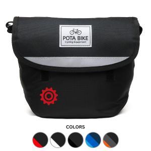 POTA BIKE(ポタバイク) シンプルフロントバッグ for ミニベロ|denden