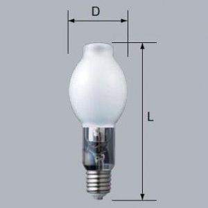 三菱 低始動電圧形セラミックメタルハライドランプ 上・下向点灯形 蛍光形 190W E39口金 HCI-BT200W/F/L/BUD/190 dendenichiba
