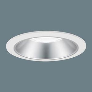 パナソニック LEDダウンライト LED1000形 セラメタ150形器具相当 埋込穴φ150 プレーン 調光タイプ 白色 広角45° 銀色鏡面反射板 XND9060SWLZ9|dendenichiba