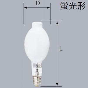 三菱 低始動電圧形高効率メタルハライドランプ マルチスター・L 水平点灯形 蛍光形 400W E39口金 MF400・L-J/BH/M dendenichiba