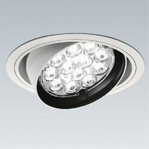 数量限定 遠藤照明 LEDユニバーサルダウンライト LEDZ Rsシリーズ CDM-TC70W相当 LEDモジュール付 電球色 超広角 埋込穴φ125 ERD2475W|dendenichiba