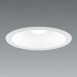 遠藤照明 LEDベースダウンライト LEDZ LAMPシリーズ 白熱灯60W形相当 昼白色 口金E26 LEDランプセット 埋込穴φ150 白コーンタイプ ERD5716W+RAD-716N|dendenichiba