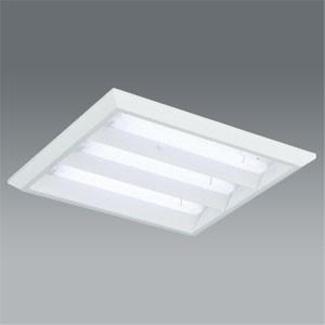 遠藤照明 LEDスクエアベースライト 埋込/直付兼用 下面開放形 Cチャンネル回避型 5500lm 昼白色 専用モジュール×3本セット 非調光 ERK9068W+RAD-416NB*3|dendenichiba