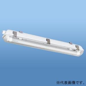 ナニワ 直管LEDランプ用器具 防水カバー型 20W型 1灯用 両側配線 全長655mm NEL-F...