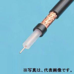 伸興電線 高周波同軸ケーブル 環境配慮形 耐燃性ポリエチレンシース 5C-2V 100m巻 黒 EM-5C-2E×100m