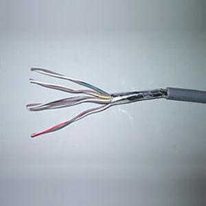 華陽電線 耐熱電線 0.65mm 10P 1m単位切り売り 灰色 APK0.65*10P