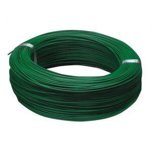住電日立ケーブル 切売販売 600V ビニル絶縁電線 アース線 単線 2.0mm 1m単位切り売り 緑 IV2.0ミドリ