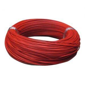 住電日立ケーブル 切売販売 600V ビニル絶縁電線 アース線 単線 1.6mm 1m単位切り売り 赤 IV1.6アカ