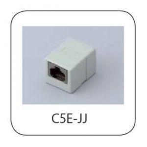 関西通信電線 10個セット Cat5e 中継コネクター C5E-JJ_10set