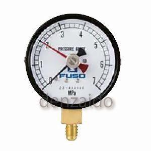 FUSO 75Φ置針式圧力計 FS-852G|dendenichiba