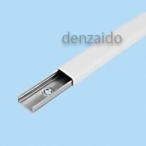 外山電気 メタルモール A型 2.0m ホワイト M102|dendenichiba