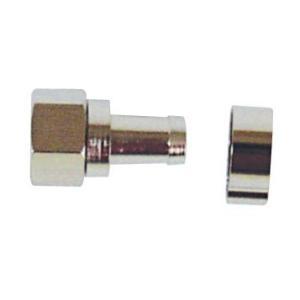 CS/BS/地上デジタル対応 5C同軸ケーブル用接栓 10個入り F-5_10|dendenichiba