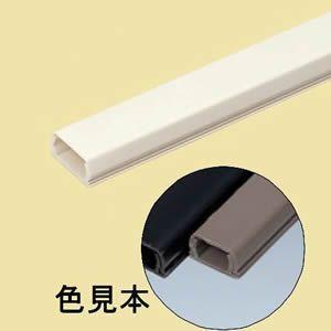 未来工業 10本セット プラモール(VVFケーブル用モール) 1号 ライトブラウン PML-1LB_set dendenichiba