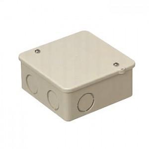 未来工業 PVKボックス 中形四角浅型 ノック付き ベージュ PVK-ANJ|dendenichiba