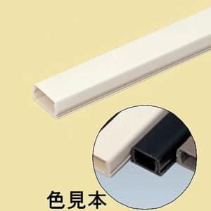 未来工業 テープ付プラモール(VVF用)2号 ブラック PML2-KT dendenichiba