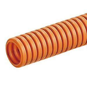 未来工業 CD管 ミラフレキCD サイズ(内径)22mm コンクリート埋没専用 オレンジ MFCD-22|dendenichiba