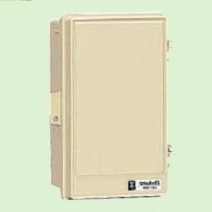 未来工業 ウオルボックス プラスチック製防雨スイッチボックス タテ型 屋根無 ベージュ WB-1AOJ|dendenichiba