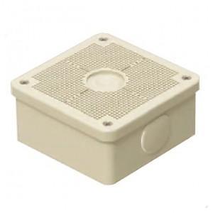 未来工業 露出用四角ボックス 取付自在蓋 ベージュ PV4B-ANF1J|dendenichiba