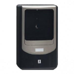 未来工業 電力量計ボックス バイザー付き 1個用 VE22・28用 ブラック×シャンパンゴールド WPN-2VK|dendenichiba