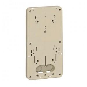 未来工業 積算電力計・計器箱取付板 1個用 ベージュ BP-2LJ|dendenichiba