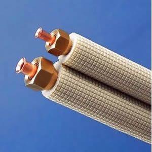 因幡電工 フレア配管セット 4m フレアナット付き 配管部材なし 対応冷媒:2種 SPH-234-C dendenichiba