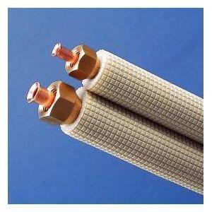 因幡電工 フレア加工済み空調配管セット 2分4分 5m SPH-F245|dendenichiba