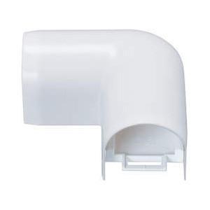 因幡電工 平面エルボカバー90°(Fタイプ) 給水・給湯用配管化粧カバー 屋内・屋外兼用 対応樹脂管サイズ:13A リフォームダクトJD JK-13F dendenichiba