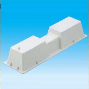 因幡電工 ケース販売 50個セット 樹脂製エアコン架台 エアコン据付台 室外機25台分 LC-360N_set|dendenichiba