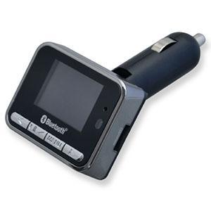 多摩電子工業 FMトランスミッター Bluetooth方式 microSD・USBメモリー対応 USB1ポート付 TKTB15ASK|dendenichiba