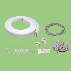関東器材 配管セット 電線入り 部品入り 2分3分 3.5m 35P-203SP|dendenichiba
