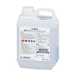 タスコ 強力アルミフィンクリーナー アルカリ性液体 2kg TA915SP-2|dendenichiba