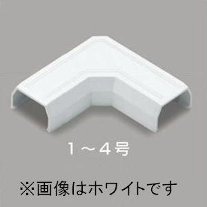 マサル工業 10個セット マガリ 2号 ホワイト ニュー・エフモール 付属品 SFMM22_10set|dendenichiba