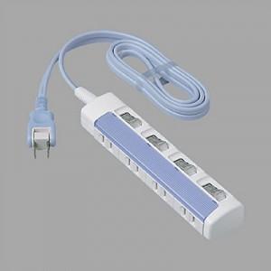 【特長】 ●差込口それぞれに個別のスイッチを設け、こまめに電源をON・OFFできるので、待機電力のム...
