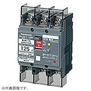 パナソニック 漏電ブレーカ モータ保護兼用 BJW-125型 JIS協約形 3P3E 100A 30mA O.C付 ボックス内取付用 端子カバー付 BJW31003K|dendenichiba