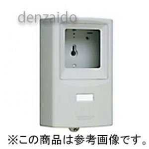 パナソニック WHM取り付けボックス 1コ用 30A用 東京電力管内用を除く 全電力管内用 単相2線・単相(三相)3線用 グレー BQKN8311H dendenichiba