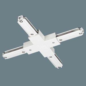 パナソニック電工 100V用配線ダクトシステム ショップライン ジョイナ+(クロス) 白 DH0237K|dendenichiba