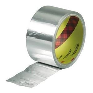 スリーエムジャパン アルミ箔テープ 25mm×10m シルバー 42525*10R|dendenichiba