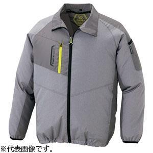 アイトス 空調服(TM) TULTEX(R)モデル 長袖ジャケットタイプ 6Lサイズ モクグレー AZ-50199-104-6L|dendenichiba