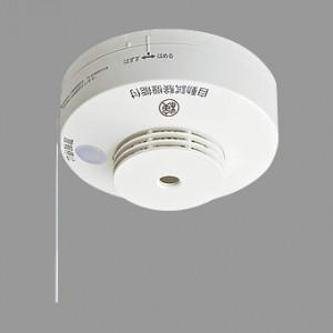 パナソニック 住宅用火災警報器 ねつ当番 露出型 定温式 AC100V端子式・移報接点付 警報音・音声警報機能付 検定品 SHK28113|dendenichiba