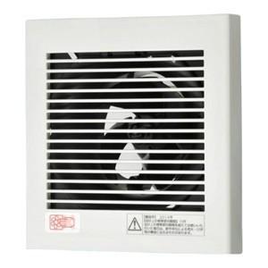 パナソニック パイプファン 排気用 スタンダードタイプ(小風量形) 角形格子ルーバー 壁・天井取付兼用 8cmプロペラファン パイプ径:φ100mm FY-08PDL9|dendenichiba