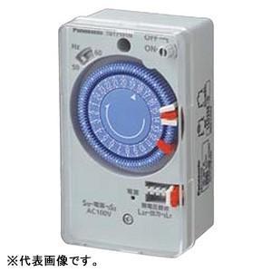 パナソニック 24時間式タイムスイッチ ボックス型 交流モータ式 AC100V用 同一回路 TB171N|dendenichiba