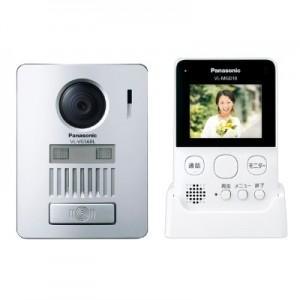 パナソニック ワイヤレステレビドアホン ワイヤレスモニター親機+ワイヤレス玄関子機 自動録画機能搭載 VL-SGD10L|dendenichiba