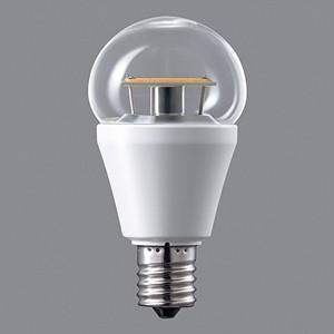 パナソニック LED電球 小形電球タイプ クリア電球タイプ 25形相当 電球色相当 E17口金 調光器対応 LDA5L-E17/C/D/W|dendenichiba
