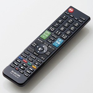 ELECOM かんたんTV用リモコン LG社製テレビ用 ERC-TV01BK-LG
