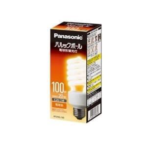 パナソニック ケース販売特価 10個セット 電球形蛍光灯 パルックボール D形(発光管露出形) 100W形 電球色 E26口金 EFD25EL/20EF2_set|dendenichiba
