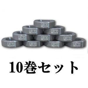富士電線 お買い得品10巻セット VVFケーブル平形 1.6mm×2芯×100m VVF1.6×2C×100M_10set|dendenichiba